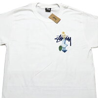 ステューシーTシャツSTUSSYPSYCHEDELICS/STEE半袖Tシャツストックロゴドット柄■品番1904663