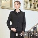 フリルスタンドカラーのエレガントアンサンブル(110831586)ブラックフォーマル 喪服 礼服 ワンピース レディース 女性…