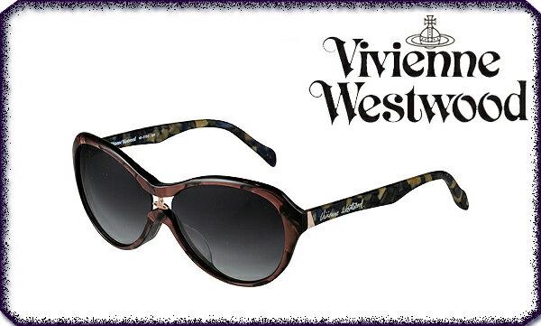 【送料無料】【VivienneWestwood】ヴィヴィアンウエストウッド サングラス VW-7755 BR