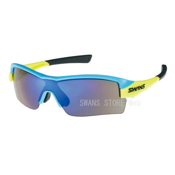 送料無料 日本製 SWANSサングラス スポーツサングラス STRIX・H STRIX H-1101 SKBL数量限定モデル