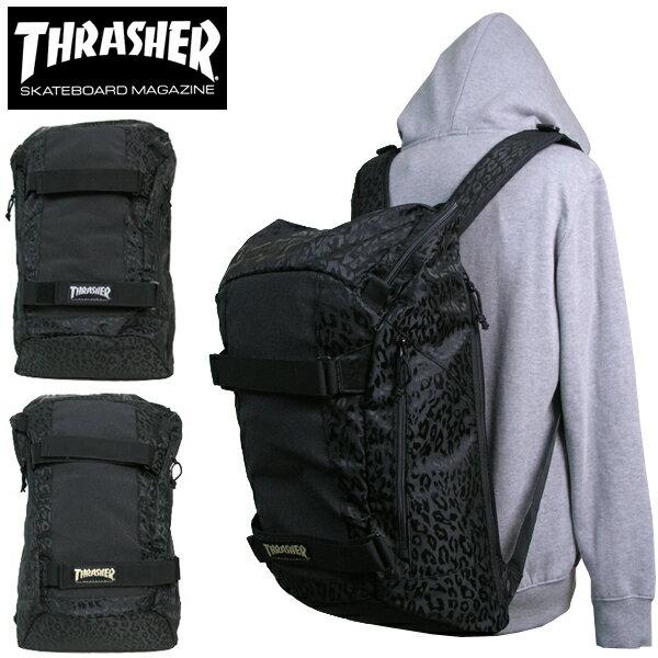 送料無料 リュック THRASHER スラッシャー THRJQ-9800 バックパック リュックサック スケボー バック