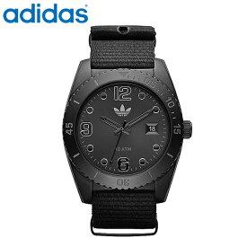 送料無料 adidas アディダス 腕時計 ブリスベンオールブラック 10気圧防水 ADH2864