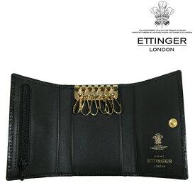 送料無料 エッティンガー/ETTINGER 6連 キーケース メンズ CC2095J-EBONY
