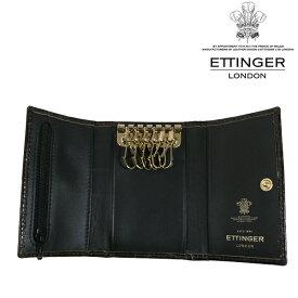 送料無料 エッティンガー/ETTINGER 6連 キーケース メンズ CC2095J-MAHOGANY