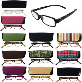 <送料無料>老眼鏡 ネックリーダーズ G082 新感覚リーディンググラス PCメガネ ブルーライトカット 全12色