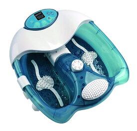 送料無料 フットバス 楽湯 極 加熱&保温 38〜43度まで温度設定が可能 バブル/バイブ/ヒーター 3種類 足湯