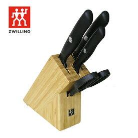送料無料 Zwilling ツヴィリング JA センスLナイフブロックセット 5点セット ナイフブロック 包丁セット ツヴィリング J.A. ヘンケルス