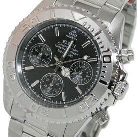 送料無料 エルジン ELGIN クロノグラフ 20気圧防水 メンズ腕時計 FK1120S-B