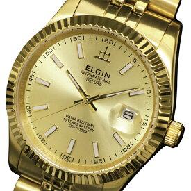 送料無料 ELGIN エルジン クォーツ 腕時計 FK1422G-G