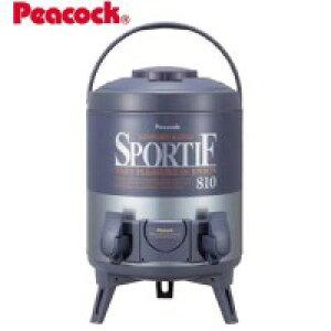 【暮らしラクラク応援セール】Peacock ピーコック魔法瓶 ダブルコックキーパー(8.1L) INW-80 ブルーグレー(AH)【取り寄せ・同梱注文不可】