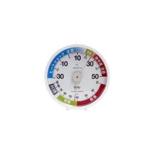 【暮らしラクラク応援セール】EMPEX(エンペックス気象計) 脱衣室・トイレ用温・湿度計 TM-6311【取り寄せ・同梱注文不可】