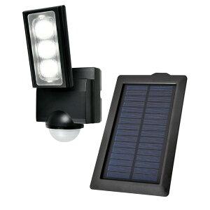 【暮らしラクラク応援セール】ELPA(エルパ) 屋外用LEDセンサーライト ソーラー発電式 ESL-311SL【取り寄せ・同梱注文不可】