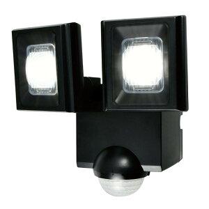 【新生活応援セール】ELPA(エルパ) 屋外用LEDセンサーライト 乾電池式 ESL-N112DC【取り寄せ・同梱注文不可】