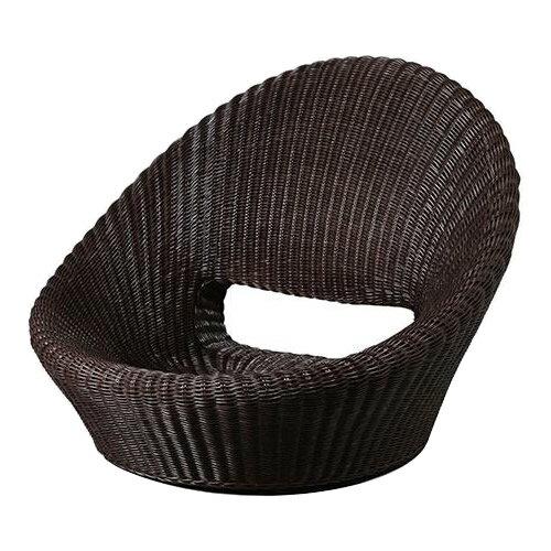【送料無料】【代引き・同梱不可】【取り寄せ】 Ever Graceエバーグレース ウィッカー編み座椅子 EGZ01
