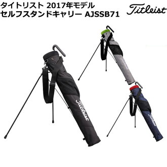 Titleist AJSSB71 self-stand carry [W14xD11xH77cm 47 inches correspondence]