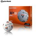 【ガチ得クーポン発行中!】テーラーメイド New TP5 ピックス pix ゴルフボール 1ダース(12球) 2021年モデル (即納)