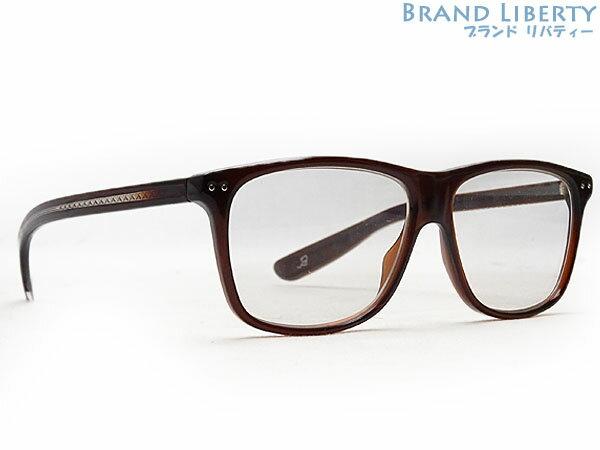 【超美品】ボッテガ ヴェネタ BOTTEGA VENETA メガネフレーム 伊達メガネ 眼鏡 アイウェア BV140 【中古】