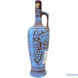 サペラヴィ陶器ボトル(赤)Saperavi ジョージアワイン≪配送選択にご注意≫