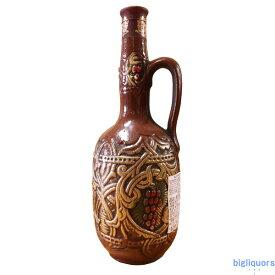ルカツィテリ〔クヴェヴリ〕陶器ボトル 750ml(白)ジョージアワイン≪配送選択にご注意≫