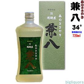 兼八 森のささやき 34°720ml(化粧箱入り) 【四ツ谷酒造】【□】