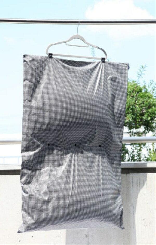 【枕・クッション用】「干し袋」花粉・ほこり・黄砂からふとんを守る!【デュポンの極細繊維使用】【タイベック】【72×108cm】