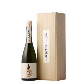 大信州 以和為貴 純米大吟醸 720ml 専用木箱入り 【日本酒/長野県/大信州酒造】【冷蔵推奨】