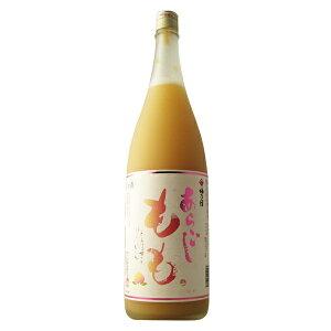梅乃宿 あらごしもも酒 1800ml 【奈良県/梅乃宿酒造】