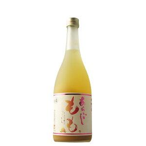 梅乃宿 あらごしもも酒 720ml 【奈良県/梅乃宿酒造】
