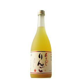 梅乃宿 あらごしりんご酒 720ml 【奈良県/梅乃宿酒造】