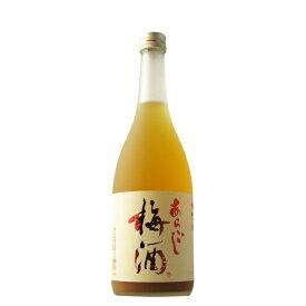 梅乃宿 あらごし梅酒 720ml 【奈良県/梅乃宿酒造】