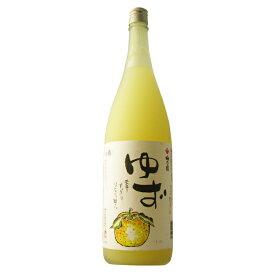 梅乃宿 ゆず酒 1800ml 【奈良県/梅乃宿酒造】
