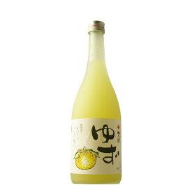 梅乃宿 ゆず酒 720ml 【奈良県/梅乃宿酒造】