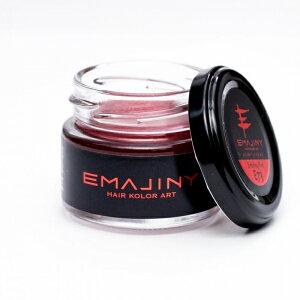 Emajiny Red E73 レッド ヘアカラーワックス 2個セット