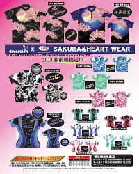【ABS受注生産】2019桜ウェア【桜月】ハイネックシャツ(男女兼用サイズ)【ネーム入れ可】【代引き不可】