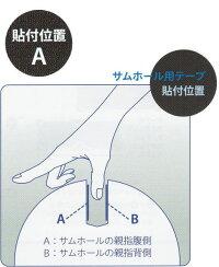 """【メール便可】【Master】マスターインサートテープ【Texturedホワイト】【1袋32枚(1/2""""は48枚)】"""