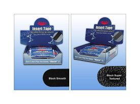 【メール便可】 【Master】 マスター インサートテープ 【ブラックSmooth、Super Texturedブラック】【1袋32枚】
