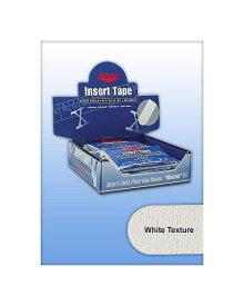 """【メール便可】 【Master】 マスター インサートテープ 【Texturedホワイト】【1袋32枚 (1/2""""は48枚)】"""