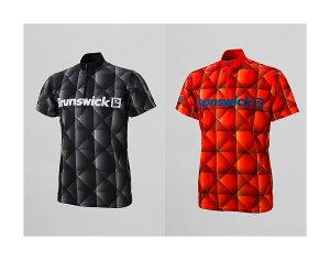 【STEEL TO SUNBRIDGE】 S2S 001 カレイドスコープ(Brunswick) 立襟ジッパーシャツ (男女兼用サイズ)