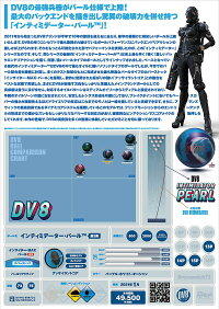 【DV8】インティミデーター・パール