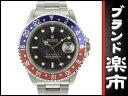 ☆B楽市本店☆本物 ロレックス ROLEX GMTマスター オートマ 腕時計 16700 S番台 黒文字盤 【時計】【中古】【磨き済み】