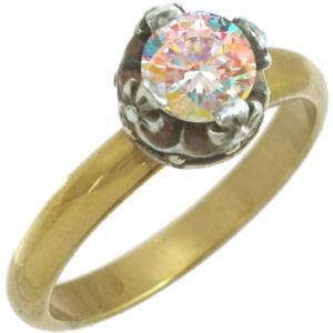 ミスティックキュービッククロスクラウン シルバーリング(指輪)