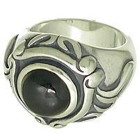 ラージオニキスストーン シルバーリング(指輪)*FREE STYLE(フリースタイル)