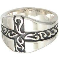 アラベスククロス シルバーリング(指輪)*FREE STYLE(フリースタイル)