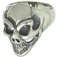 スモールグッドラック シルバーリング(指輪)*BWL(ビルウォールレザー)Good Luck Skull