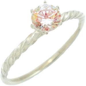 ミスティックキュービックシックスポイント シルバーリング(指輪)