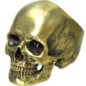 骸骨、顎付きスカルブラスリング(指輪) *sou designs(ソウデザインズ)