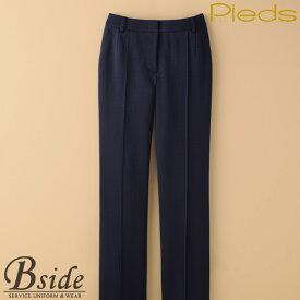 ピエ【Pieds】 パンツ HCP1510 動きやすいとキレイの才色兼備パンツ 前カーブゴムパンツ 【制服 パンツ】 【レディース】 1510 series