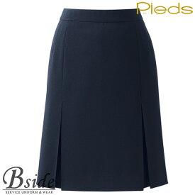 ピエ【Pieds】 プリーツスカート HCS3501 適度な伸縮性があるストレッチ素材。カラダへの負担を軽減します。 【スカート】 【レディース】 3500 series