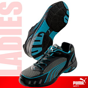 【PUMA】 Fuse Motion Blue Wns Low (ヒューズモーション) (メーカー型式)64.232.0 スチール先芯の本格派女性用モデル ローカット 安全靴 セーフティスニーカー (レディース) 【送料無料】