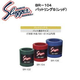 久保田スラッガー バットリングS(レッド) BR-104